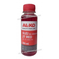 Olej do mieszanki 2-suw AL-KO 2T RED 100 ml